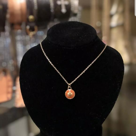 a3702d7cb6546 Louis Vuitton Orange and 14k Gold Pendant 🌺🌺 NWT